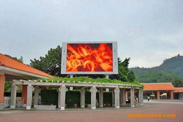 màn hình led quảng cáo P12 ngoài trời