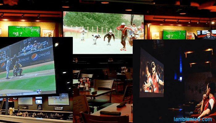 màn hình led quán cafe 1