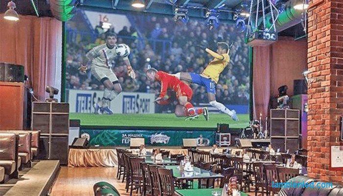 màn hình led quán cafe
