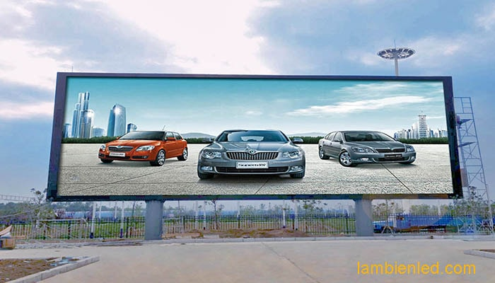 sử dụng màn hình led quảng cáo 1