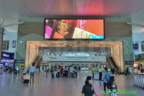 màn hình led sân bay