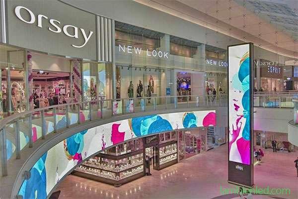màn hình led trung tâm mua sắm